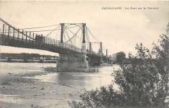 Cavaillon Le Pont Sur La Durance - Cavaillon