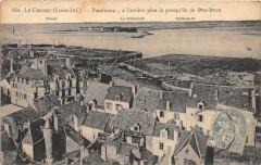 Le Croisic Panorama A L'Arriere Plan La Presqu'Ile De Penbron - Le Croisic