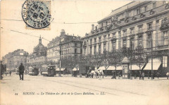 Rouen Le Theatre Des Arts Cours Boeldieu - Rouen