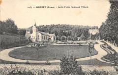 Gueret Jardin Public Ferdinand Villards - Guéret