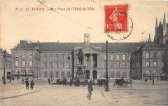 Rouen Place De L'Hotel De Ville - Rouen