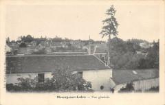 Meung Sur Loire Vue Generale (dos non divisé) - Meung-sur-Loire