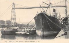 Rouen Les Quais Et Pont Transbordeur - Rouen