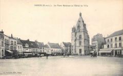 Dreux La Place Metezeau Hotel De Ville - Dreux