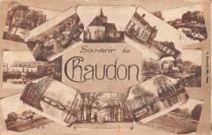 Souvenir De Chaudon - Chaudon