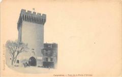 Carpentras Tour De La Porte D'Orange (dos non divisé) - Carpentras