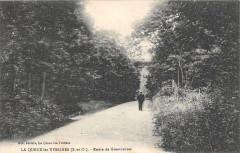 La Queue Lez Yvelines Route De Grosrouvres - Grosrouvre