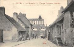 Autun Porte Romaine Dite D'Arroux - Autun