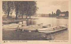 Villeneuve Sur Yonne Port De Plaisance Sur L'Yonne - Villeneuve-sur-Yonne