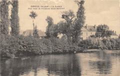 Ebreuil La Sioule Vue Faubourg Quentin - Ébreuil
