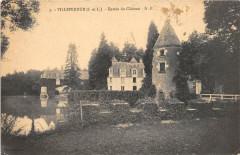 Villeperdue Entree Du Chateau - Villeperdue