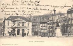 Sedan Place Turenne (dos non divisé) - Sedan