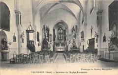 Calvisson Interieur De L'Eglise - Calvisson