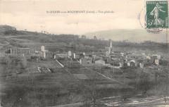 Sainte Didier Sous Rochefort Vue Generale - Roche