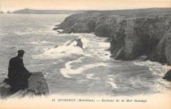 Quiberon Rochers De La Mer Sauvage - Quiberon