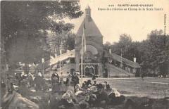 Sainte Annee D´AURAY Repos Des Pelerins Au Champ - Auray