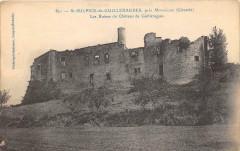 Saint Sulpice De Guilleragues Pres Monsegur Les Ruines Du Chateau De Guil - Monségur
