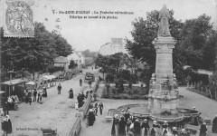 Sainte Annee D´AURAY Pelerins Se Lavant A La Piscine - Auray