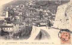 Pont En Royans Route Pour Les Grands Goulets (dos non divisé) - Pont-en-Royans