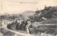 Cremieu Les Tours De St Hippolyte - Crémieu