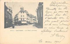 28 Louviers Le Pilori  (dos non divisé) - Louviers