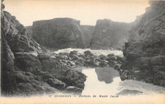 Quiberon Rochers De Menhier Jacob - Quiberon
