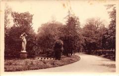 Castres Le Jardin Du Mail (cpa glacée - Castres