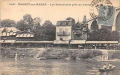Nogent Sur Marne Les Restaurants Pres Du Viaduc - Nogent-sur-Marne