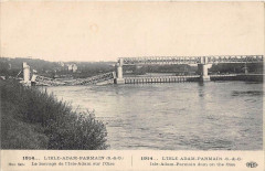 L'Isle Adam Parmain Le Barrage Sur L'Oise - Parmain