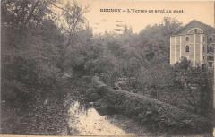 Brunoy L'Yerres En Aval Du Pont - Brunoy