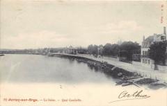Juvisy Sur Orge La Seine Quai Gambetta (dos non divisé) - Juvisy-sur-Orge