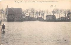 Choisy Le Roi Inondations La Chapelle Du Quartier Des Gondoles - Choisy-le-Roi
