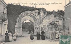 Ivry La Bataille Portail De L'Abbaye - Ivry-la-Bataille
