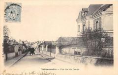 Villemomble Une Rue Du Centre (dos non divisé) - Villemomble