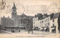 Laval La Cathedrale Place Du Palais - Laval
