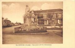Sainte Hermine Monument Clemenceau - Sainte-Hermine