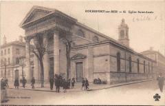 Rochefort Sur Mer Eglise Saint Louis - Rochefort