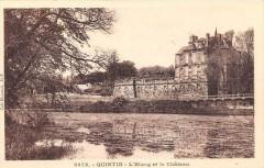 Quintin L'Etang Et Le Chateau - Quintin