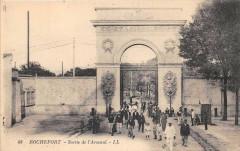 Rochefort Sur Mer Sortie De L'Arsenal - Rochefort