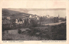 Saint Michel En Greve Panorama Pris De La Route De Lannion - Lannion