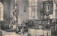 Le Faouet Interieur De L'Eglise DeSainte-Barbe - Le Faou