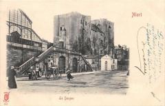 Niort Le Donjon  (dos non divisé) - Niort