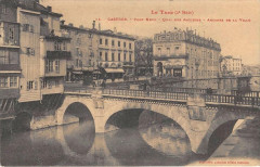 Castres Pont Neuf Quai Des Jacobins Arcades De La Ville - Castres