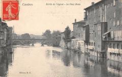 Castres Bords De L'Agout Le Pont Biais - Castres
