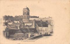 La Chartre Sur Le Loir (dos non divisé) - La Chartre-sur-le-Loir