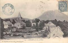 Lachamps Et Le Puy De Dome - Champs