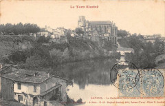 Lavaur La Cathedrale St Alain Et Bords De L'Agout - Lavaur