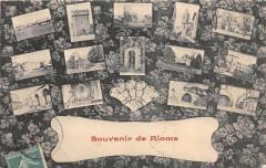 Souvenir De Rions (une faute sur devant de la cpa mais est bien Rions (ca - Rions