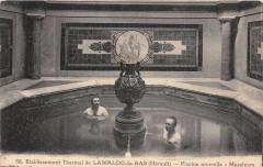Lamalou Les Bains Etablissement Thermal Piscine Nouvelle Messieurs - Lamalou-les-Bains