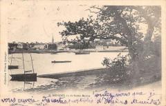 Benodet Vue De Saint Marine (dos non divisé) - Bénodet